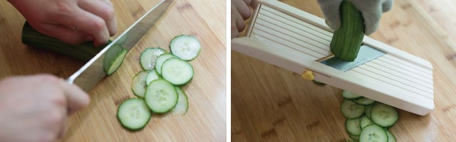 How to Slice Cucumbers