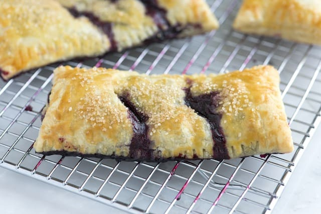 Handheld Blueberry Pie