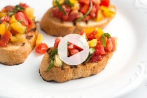 Fresh Bruschetta Recipe Video