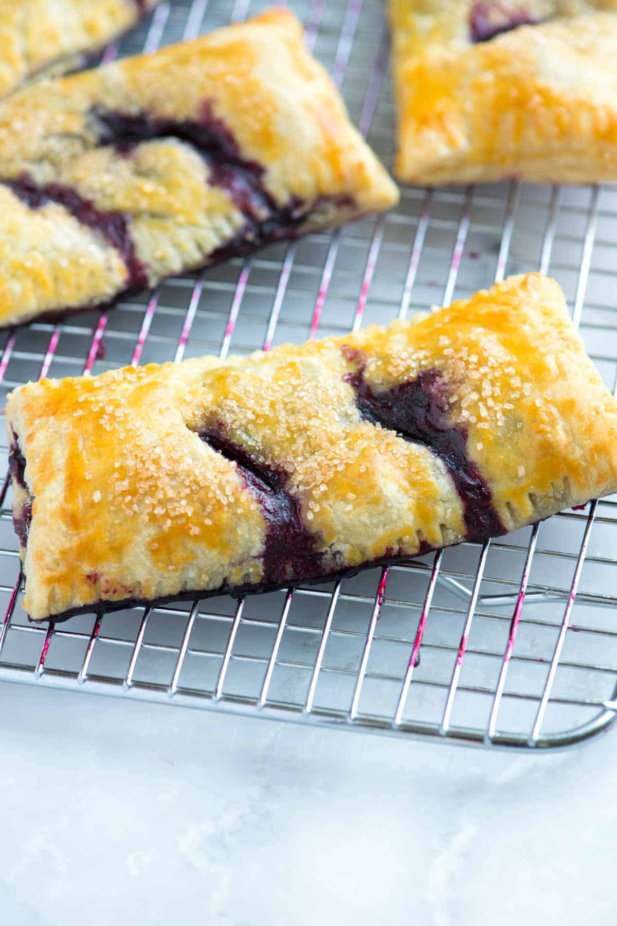 How to Make a Handheld Blueberry Pie
