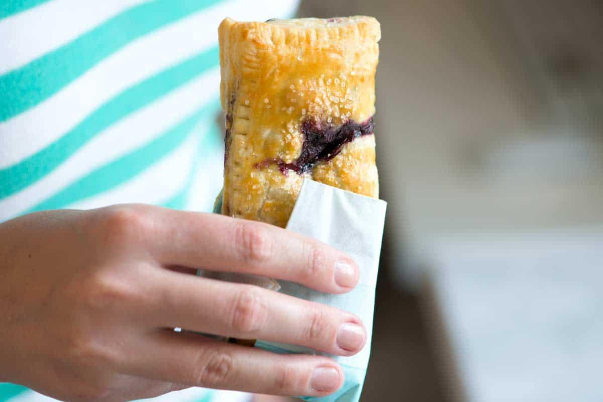 Easy, Handheld Blueberry Pies Recipe