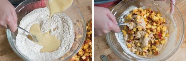 Vanilla-Peach-Muffins-Recipe-Step-1