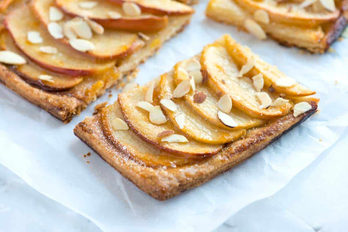 Simple Apple Tart Recipe with Flaky Crust