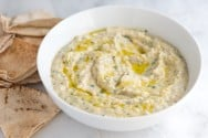 Baba Ganoush - Roasted Eggplant Dip