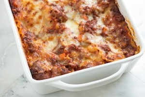 See Meaty Lasagna Recipe