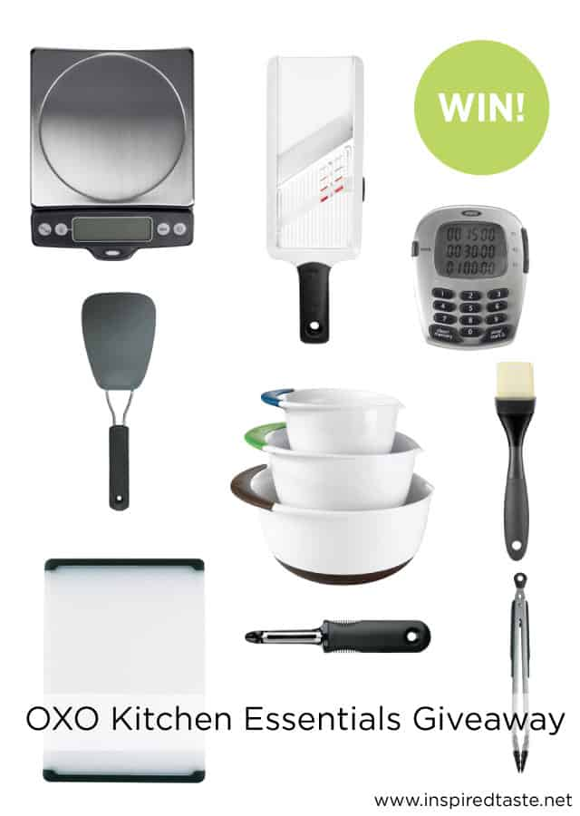 Oxo Kitchen Essentials Giveaway