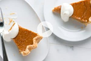 Homemade Pumpkin Pie Recipe Video