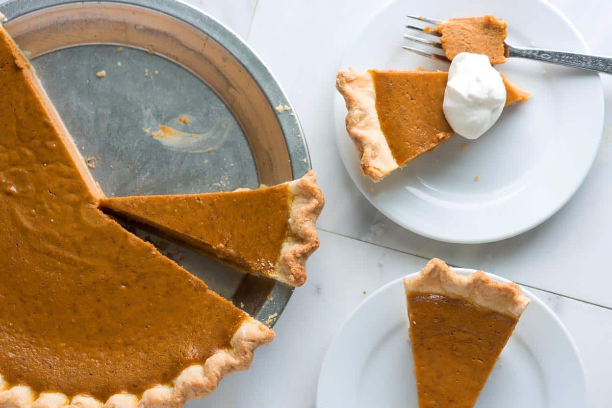 How to make classic, unfussy pumpkin pie from scratch.