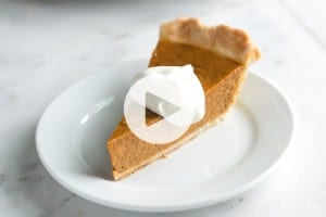 Pumpkin Pie Recipe Video