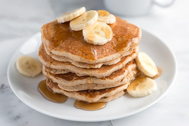 Easy Whole Wheat Pancakes