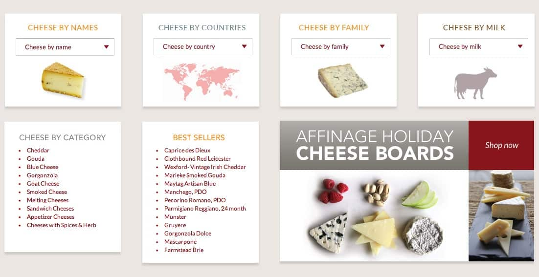 Affinage Cheese Shop