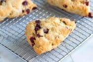 How to Make Cranberry Scones