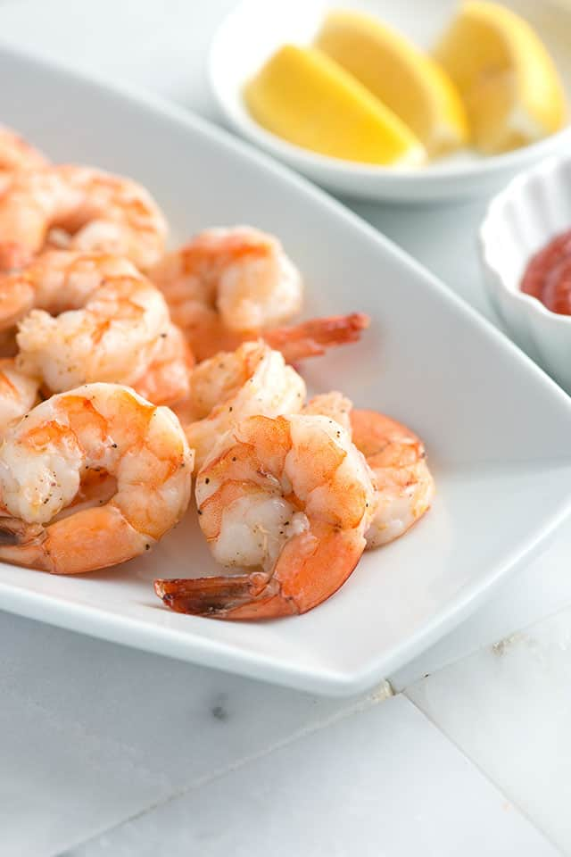 Ridiculously Easy Roasted Shrimp Cocktail Recipe
