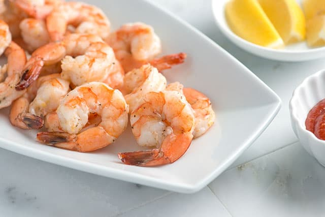 Ridiculously Easy Roasted Shrimp Cocktail