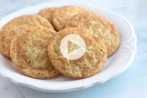 Easy Snickerdoodles Recipe with Video