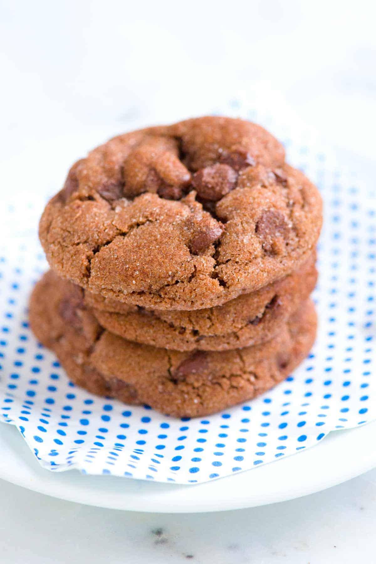 How to Make Cinnamon Chocolate Cookies