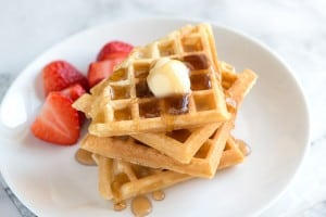 Simple, Essential Waffle Recipe