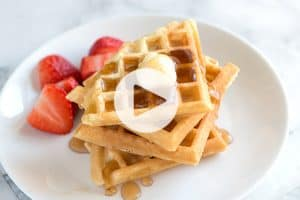 Best Waffle Recipe Video