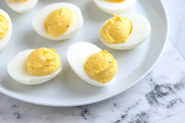 Deviled eggs recipe with tips for Table 52 deviled eggs recipe