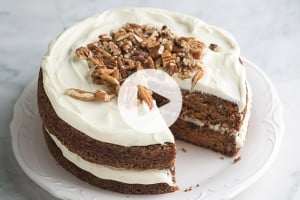 Carrot Cake Recipe Video