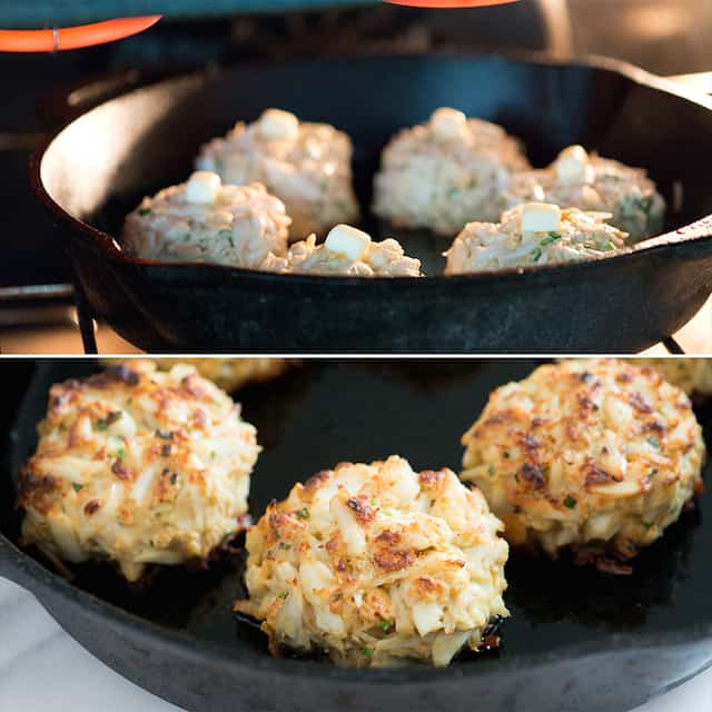 Broiled Maryland-Style Crab Cake
