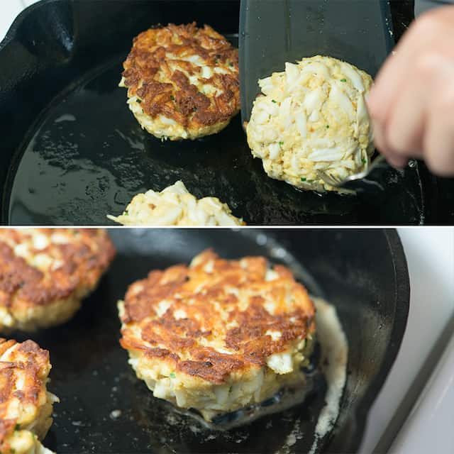 Pan-Fried Crab Cake