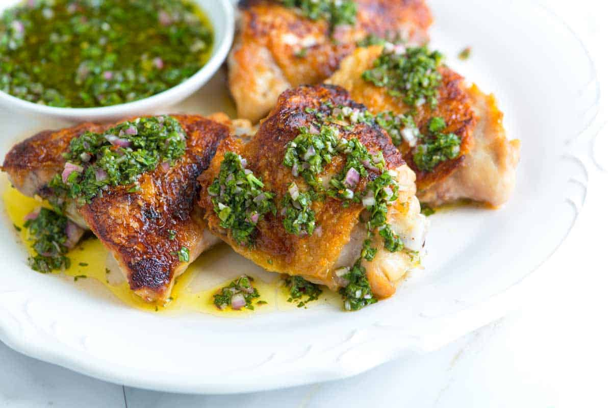 Chimichurri Chicken Thighs Recipe