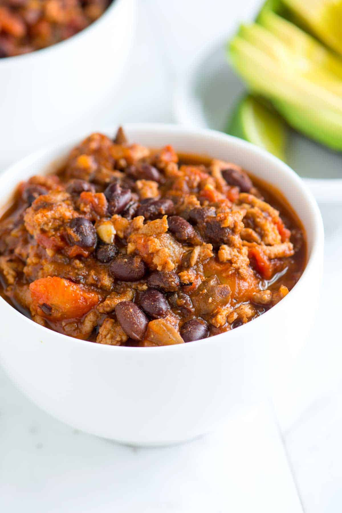 How to Make Extra Flavorful Turkey Chili -- Easy & Healthy!