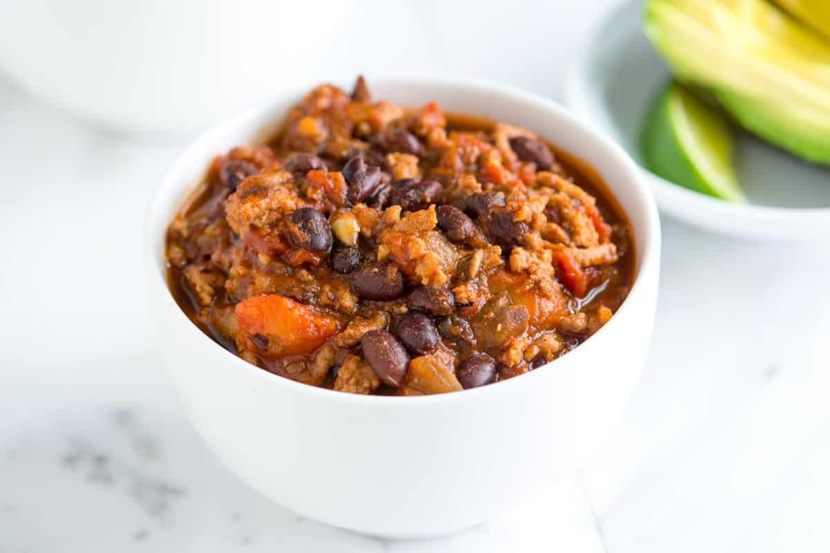 Easy, Healthy Turkey Chili Recipe