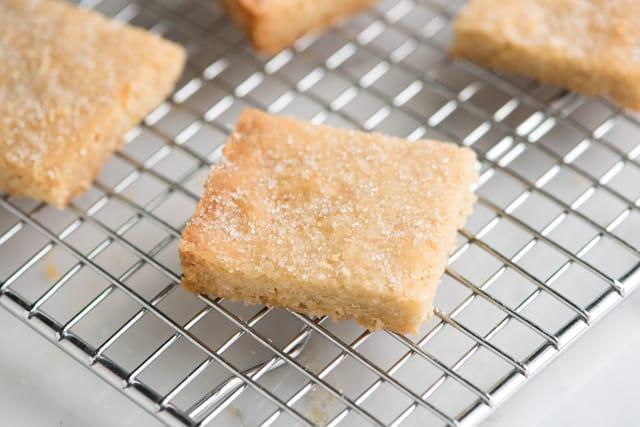 Rich, Buttery Shortbread Cookies