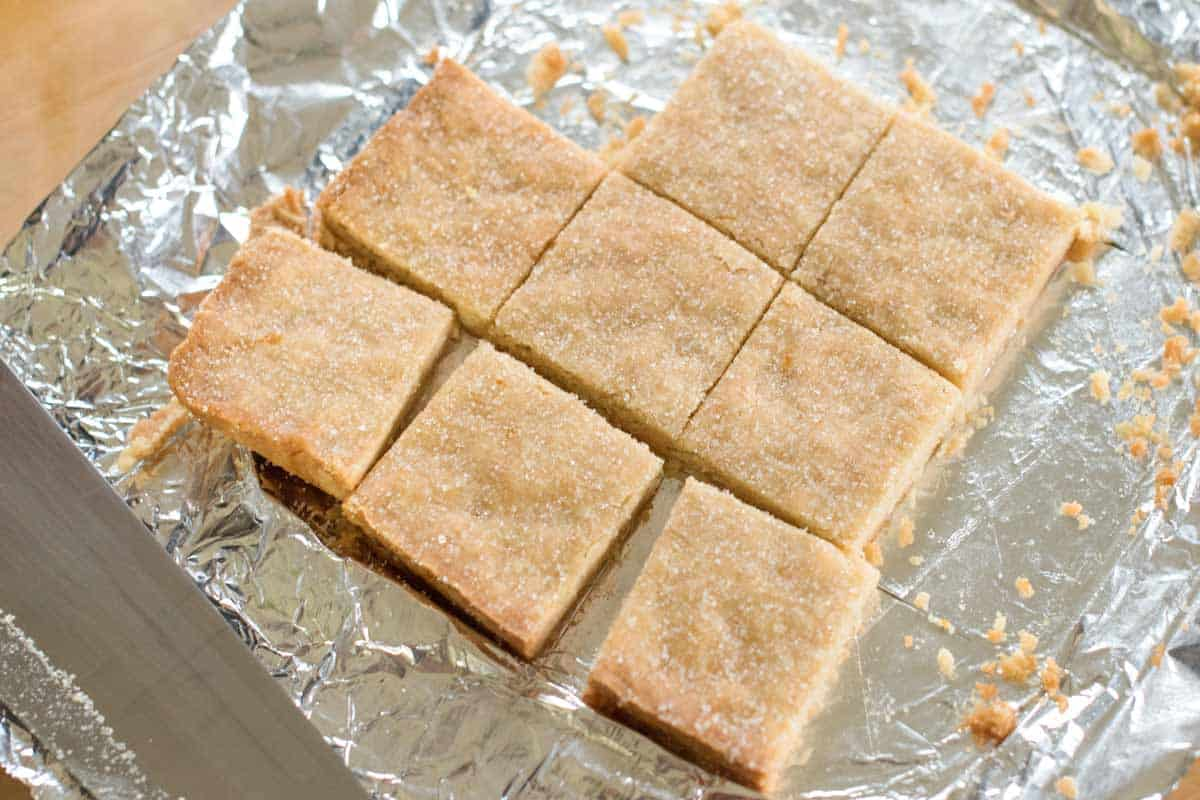 Easy recipes for shortbread cookies