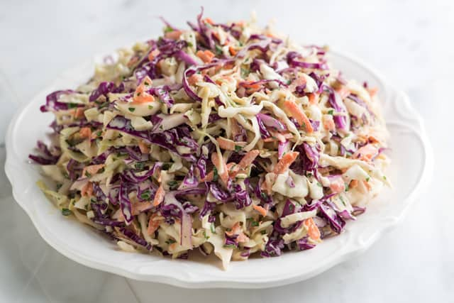 Joanne's Favorite Coleslaw - Fresh, Lively and Colorful