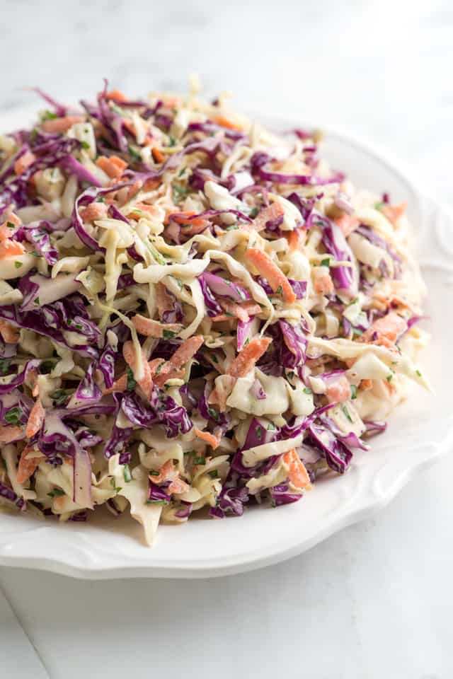 Joanne's Favorite Coleslaw Recipe - Fresh, Lively and Colorful