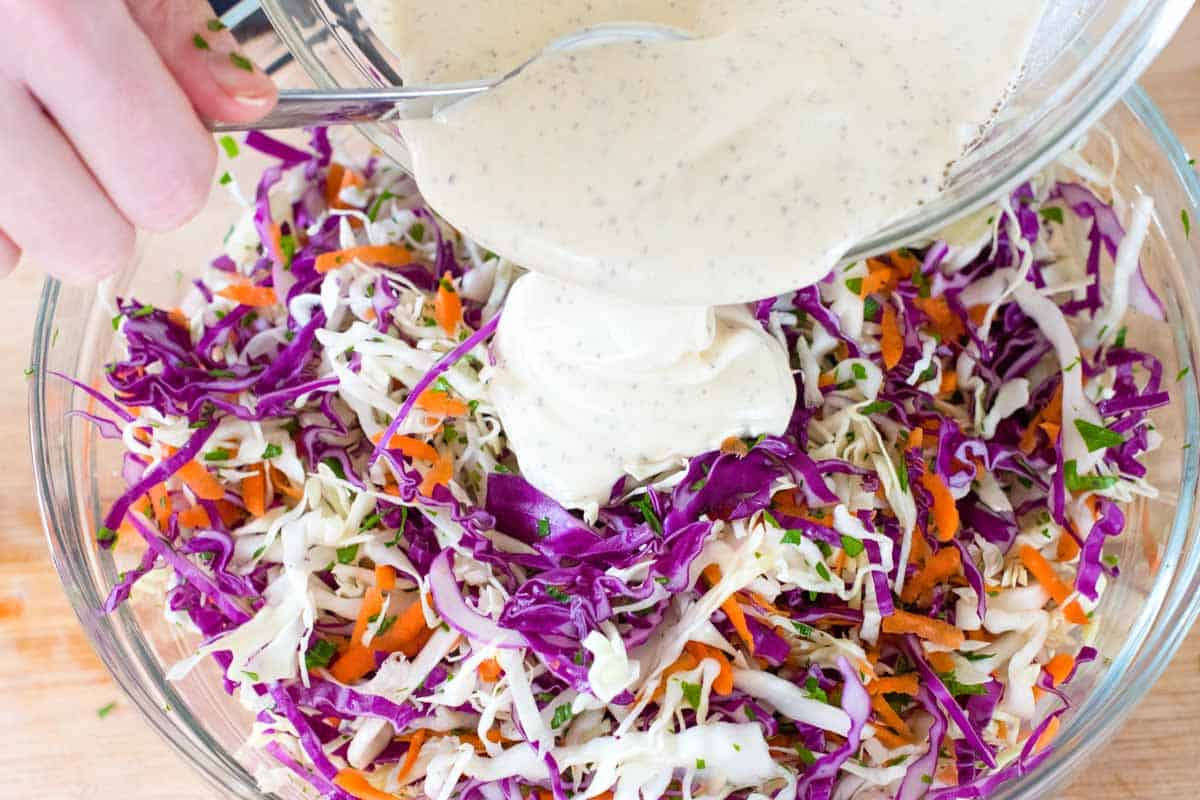 How to Make Coleslaw Ahead of Time