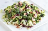 Broccoli Salad Recipe with Bacon