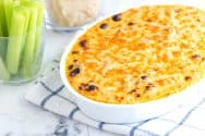 Cheesy Buffalo Chicken Dip Recipe