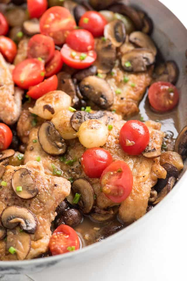One-Pan, Easy Chicken Marsala Recipe