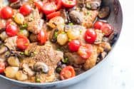 Easy One Pan Chicken Marsala Recipe