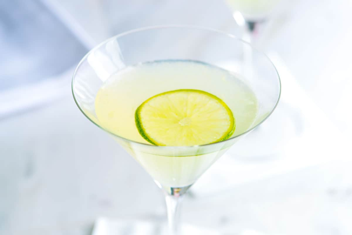 Vodka Gimlet From Scratch