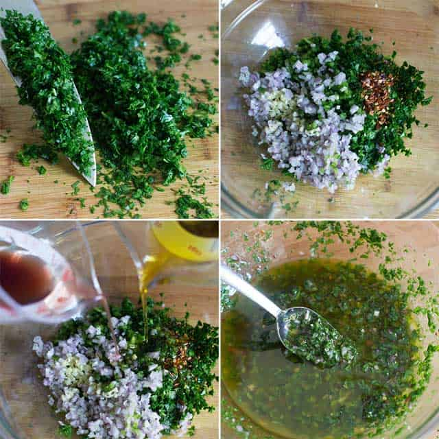 How to Make Zesty, Green Chimichurri Sauce