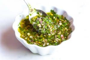 Homemade Chimichurri Sauce Recipe