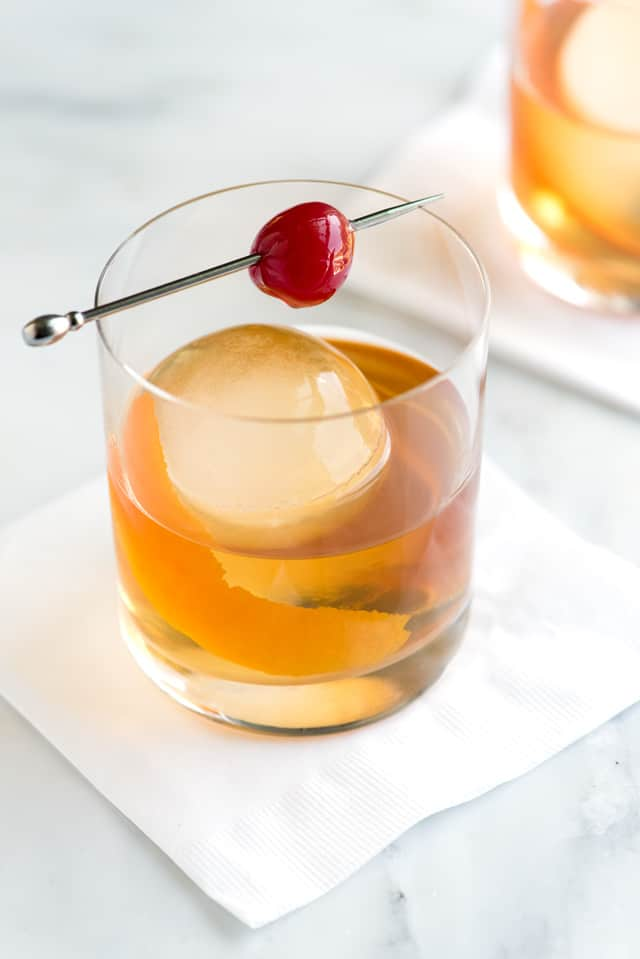 Old Fashioned with Tips
