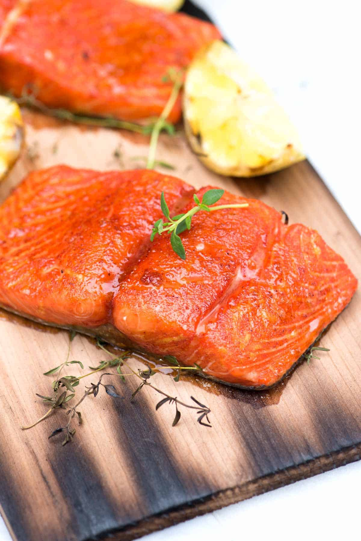 How to Grill Salmon Using a Cedar Plank