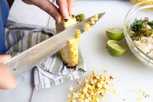 Grilled Guacamole Recipe_Corn
