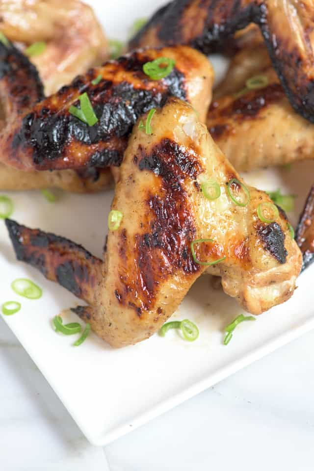 Pho-Inspired Grilled Chicken Wings Recipe
