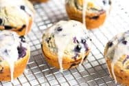 Ginger Oatmeal Blueberry Muffins Recipe