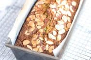 Easy Zucchini Bread Recipe with Almonds