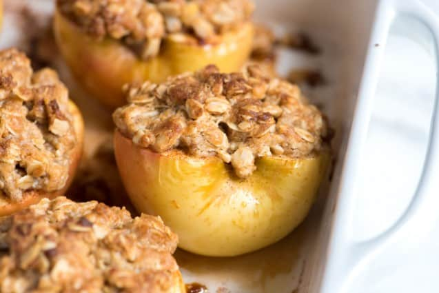 A Dutch apple pie with a perfectly cooked apple filling and tons of crumble topping. The perfect fall dessert! I can't think of a better way to welcome fall with open arms than with a piled-high-to-the-sky apple pie.