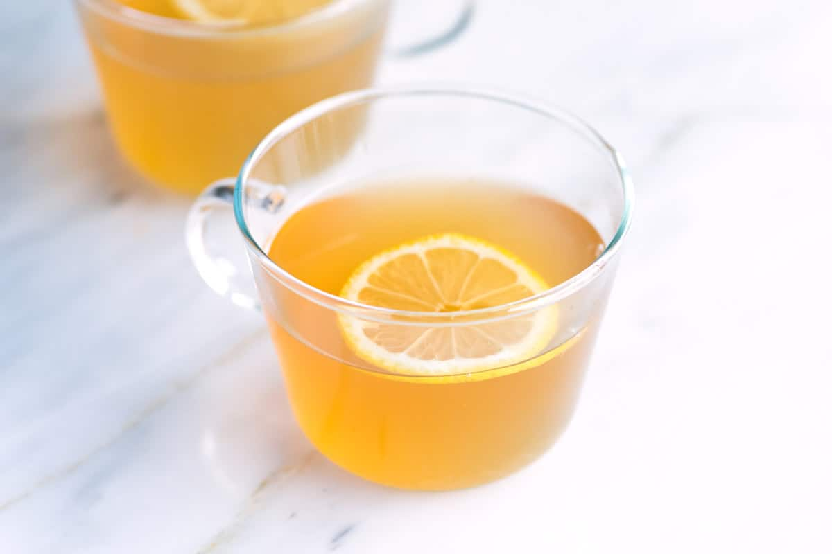 Hot Toddy Recipe with Lemon and Honey