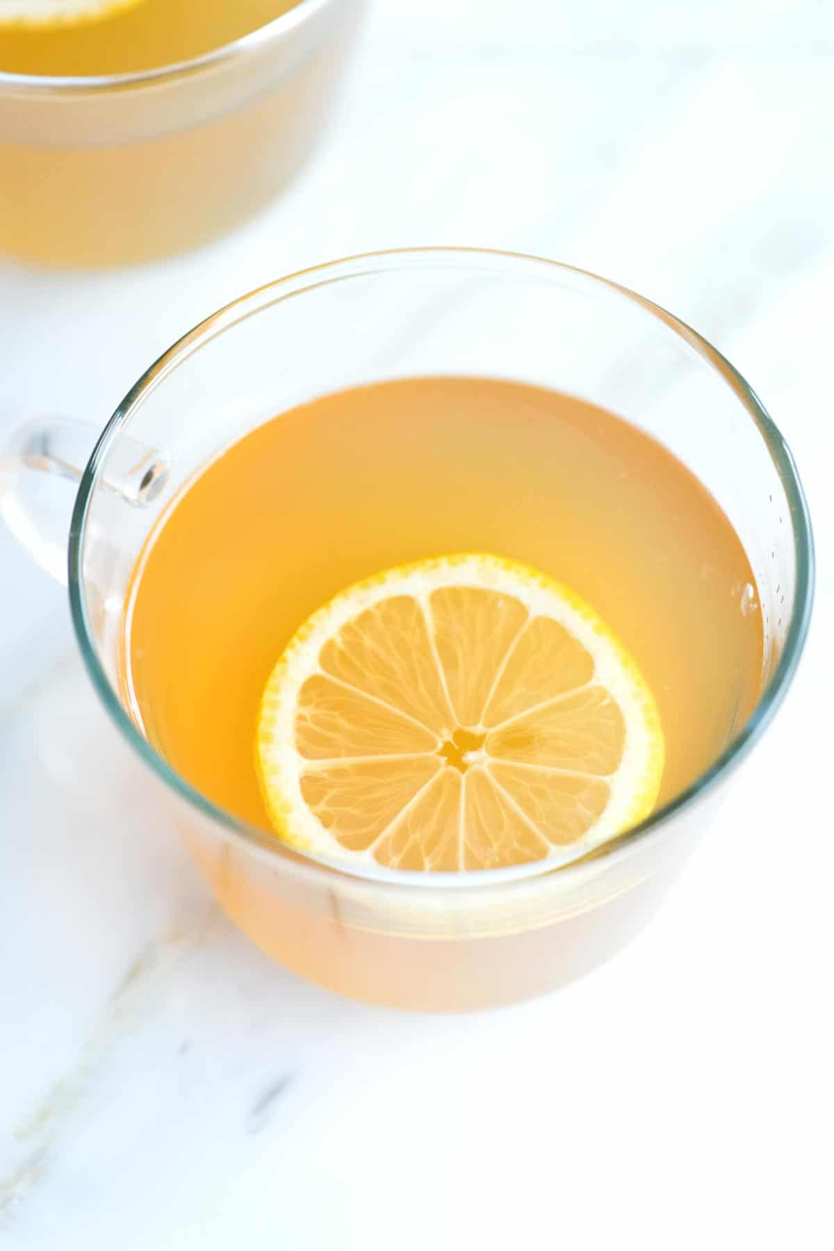 Our Favorite Hot Toddy with Lemon